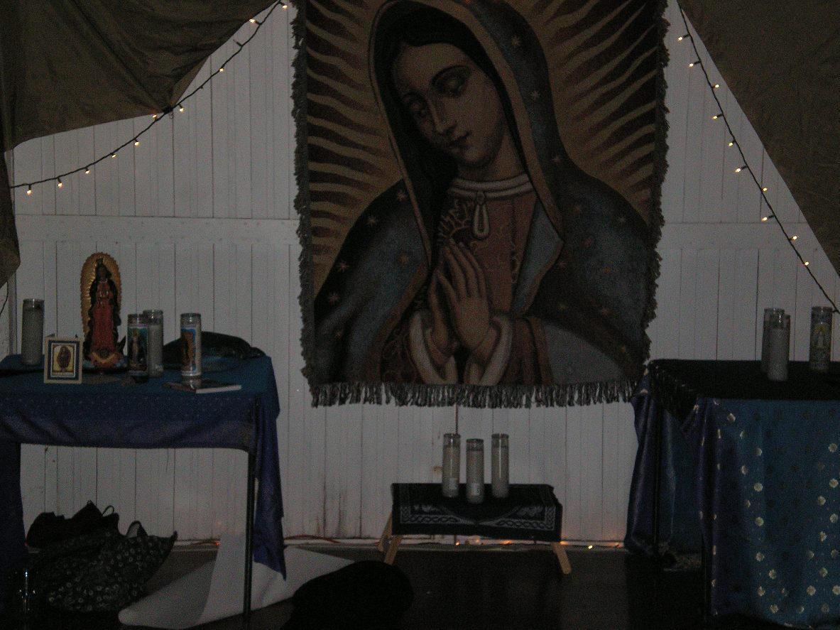 SHWC2006: Tonantzin altar by steward