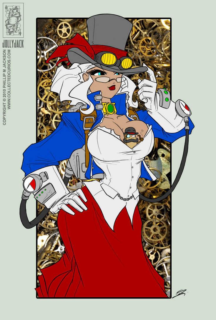 Jolly Jack's Steampunk Helga by OracleX7