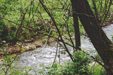 Slow river by CrisLeMoustache