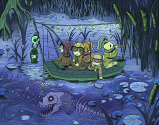 2 fishing by hakutooon