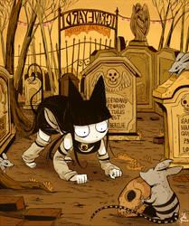 3 graveyard by hakutooon