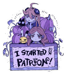 I started Patreon! by hakutooon