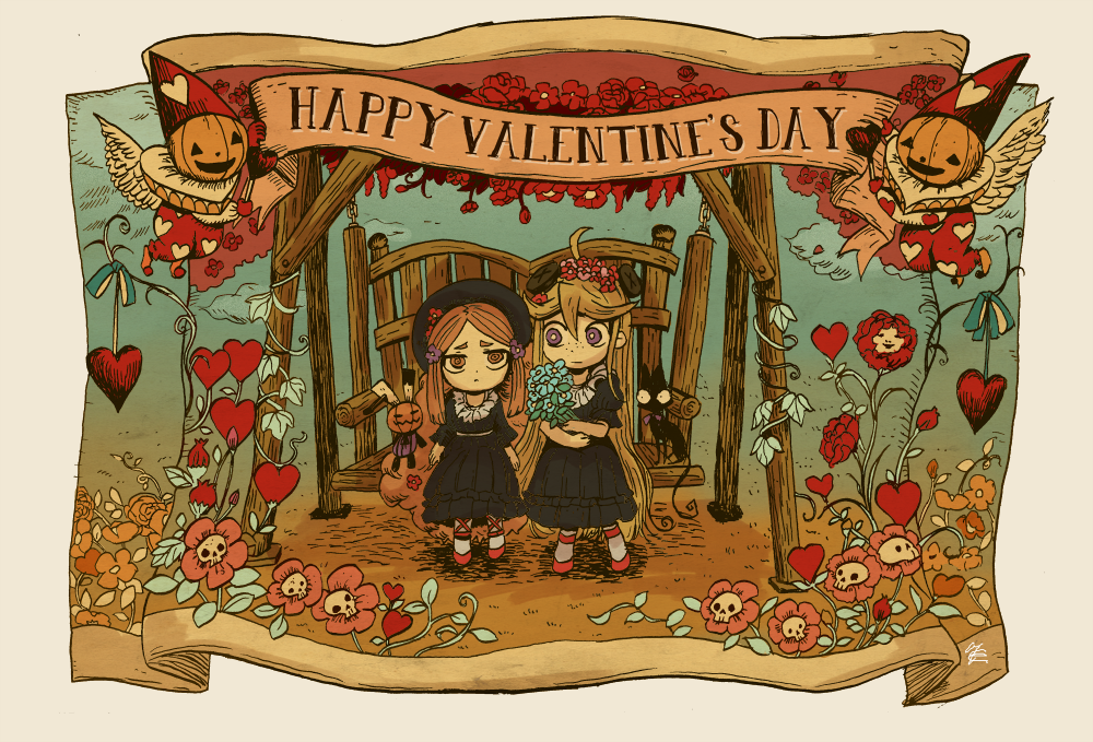 valentine by hakutooon