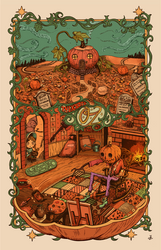 [new print] Road-to-oz by hakutooon