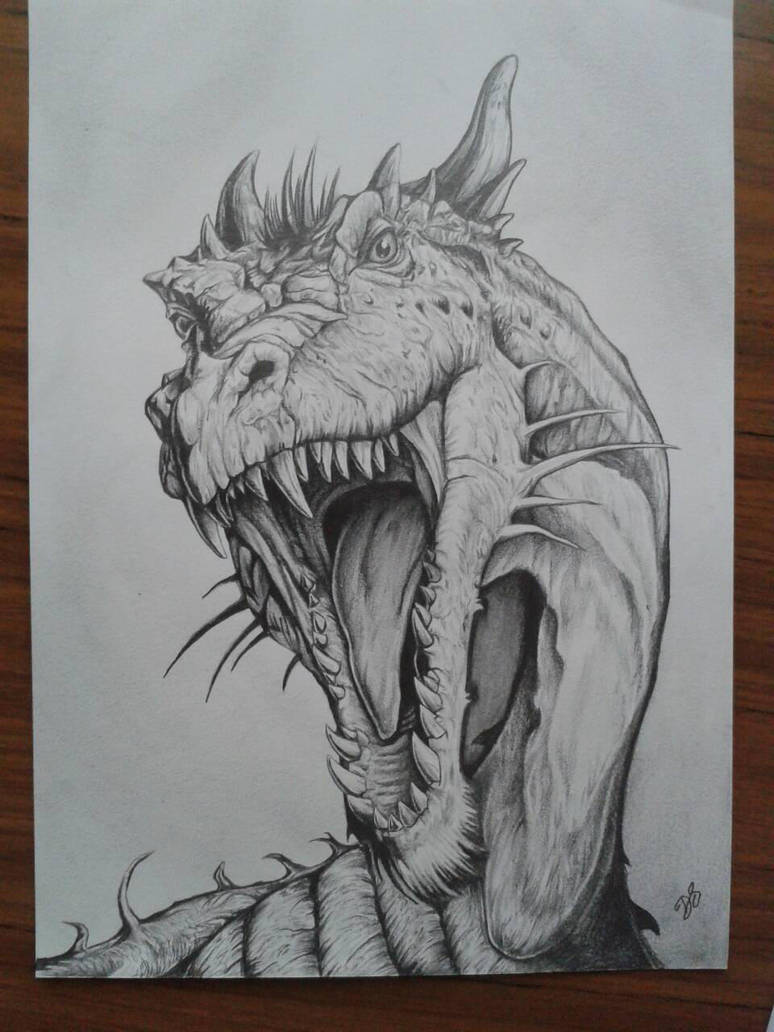 Dragon by davidsteeleartworks