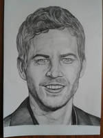 Paul Walker portrait by davidsteeleartworks