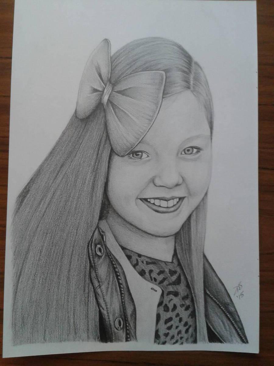 Katie by davidsteeleartworks