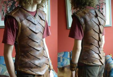Argonian Armor by mind-traveler