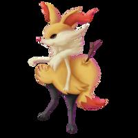 Pokemon Collab: Braixen. by Ingoro