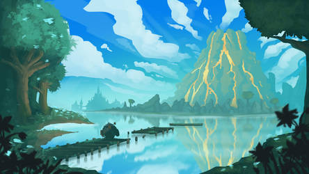 The Legend of Zelda: Daruk (study/highly inspired) by Ingoro