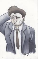 Detective Gumshoe by Reepicheep-chan