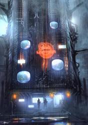 Red Lanterns by artificialdesign