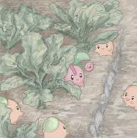 Lost cherubi by Kyle-Dove