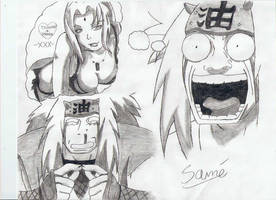 Jiraiya favorite Past Time :P by Biggysam