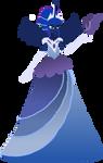 Luna Gala Dress - Humanized by Senwyn1