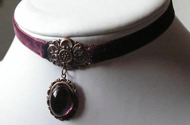 burgundy velvet by kaitani81
