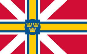 Scandinavian Commonwealth Flag by Rarayn