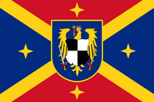 Hohenzollern Romanian Empire Flag by Rarayn