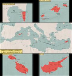 Alt. British Meditterenean Islands Map -Request- by Rarayn