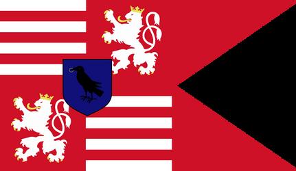 Corvinus' Black Army Flag by Rarayn