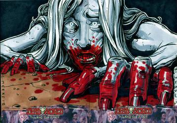 Deadworld Crawling Zombie by Kapow2003