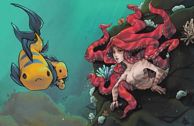 The Little Mermaid by VanessaFardoe