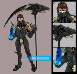 Concept: Bone Crusader by VanessaFardoe