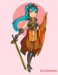 Fantasy Precure: Cello by VanessaFardoe
