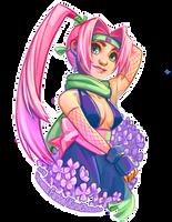 Original Art: Strawberry Ninja by VanessaFardoe