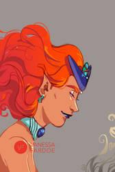 Fan Art: Queen Beryl by VanessaFardoe