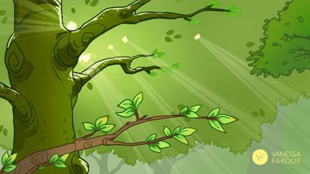 WISH : Tree Tops by VanessaFardoe