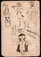 RS Mikka Outfits by Ekuneshiel