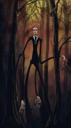 The Slender Man by Ekuneshiel