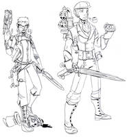 Steam and Corpses Sketchy by Ekuneshiel