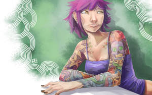 Violet by Ekuneshiel