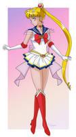 Super Sailor Moon by itsmonomi