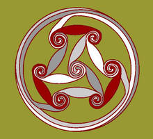 celtic spirals II by emortalcoil