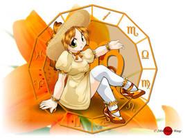 Zodiac - Virgo by HoiHoiSan
