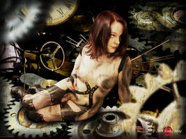 Steampunk Fairy by HoiHoiSan