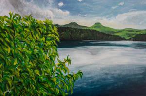 Oh mon beau lac Pavin by dc58
