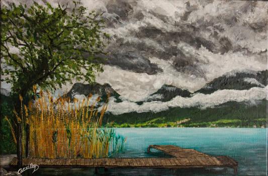 Ressourcement au lac d'Annecy by dc58