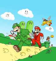 Super...Holmes and Watson???? by KaizokuShojo