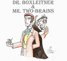 Dr Boxleitner - Mr Two-Brains by KaizokuShojo