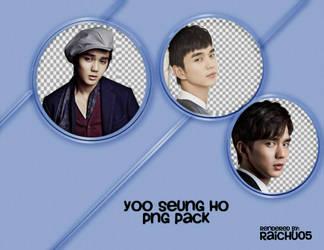 Yoo Seung-Ho || PNG pack by raichu05