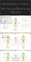 [MMD/PMDE] Tutorial - Mirroring/Reversing Facials by IchiLewis