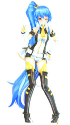 [MMD] .: Senmei :. by IchiLewis
