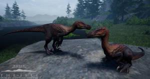 'Ember' Velociraptor by eleae