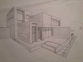 Arhitectural: house by RedFireD1
