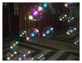Magical soap bubbles by x-ANImation-x
