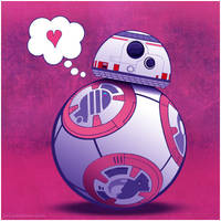 Happy V-Day from BB8 by Juliabohemian